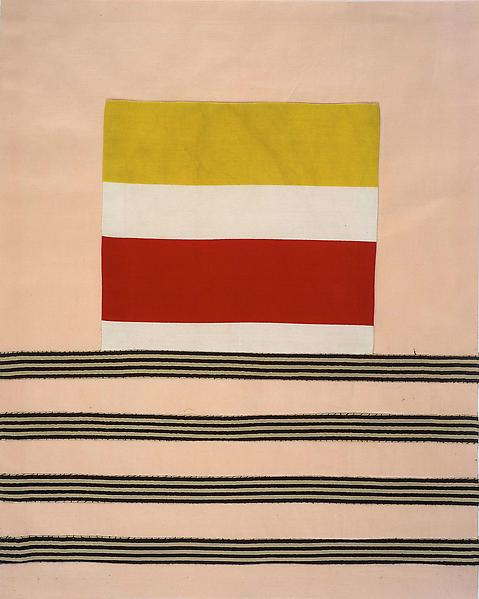 Louise Bourgeois UNTITLED 2005 Fabric 17 3/4 x 14 1/8 inches 45.1 x 35.9 centimeters