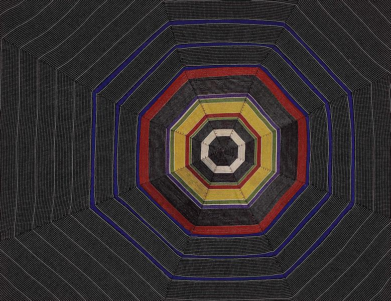 Louise Bourgeois UNTITLED 2005 Fabric 16 x 20 3/4 inches 40.6 x 52.7 centimeters