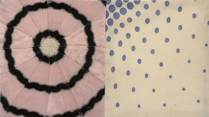 Louise Bourgeois UNTITLED 2006 Fabric 9 1/8 x 16 1/8 inches 23.2 x 41 centimeters
