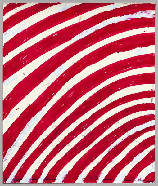 Louise Bourgeois (1911 - 2010) UNTITLED 2004 Ink and whiteout on paper 9 1/2 x 8 inches 24.1 x 20.3 centimeters