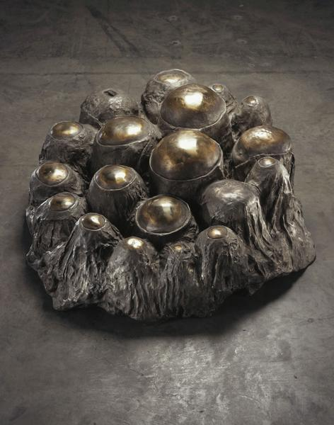 Louise Bourgeois (1911 - 2010) AVENZA REVISITED 1968-69 Bronze with silver nitrate and polished patina 17 x 41 x 35 inches 43.2 x 104.1 x 88.9 centimeters