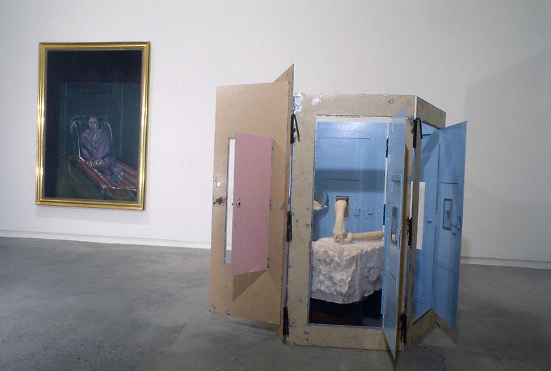 Francis Bacon, Louise Bourgeois & 	the 18th Century artist Franz Xaver Messerschmidt A Juxtaposition of the Three Artists Curated by French Art Historian & Director of the Musée Picasso, Jean Clair. 	November 18, 1998 - January 9, 1999