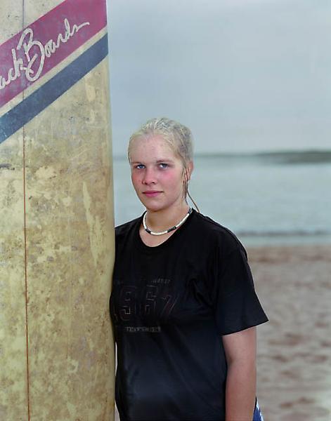 Catherine Opie RACHEL 2003 Type C Print 31 1/4 x 24 3/4 inches 79.4 x 62.9 centimeters