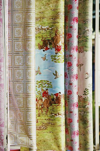 William Eggleston UNTITLED (ROLLS OF PRINTED FABRIC, PARIS) 2006 Pigment print 28 x 22 inches 71.1 x 55.9 centimeters