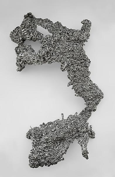 Lynda Benglis FIGURE 5 2009 Aluminum 89 x 61 x 27 inches 226.1 x 154.9 x 68.6 centimeters