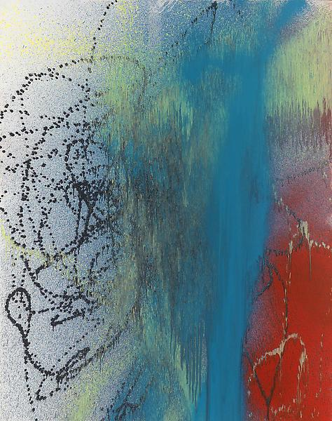 Hans Hartung (1904 - 1989) T1989-K49 1989 Acrylic on canvas 70 3/4 x 56 inches 180 x 142 centimeters