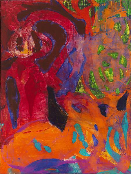Bill Jensen THE MIRROR (TARKOVSKY) 2006 - 2009 Oil on canvas 53 x 40 inches 134.6 x 101.6 centimeters
