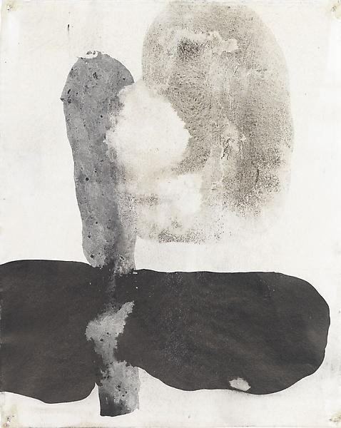 Bill Jensen 	PASSARE DA BERNARDO XXXVIII 2009 	Ink and charcoal on paper 	11 3/8 x 9 1/8 inches 	28.9 x 23.2 centimeters