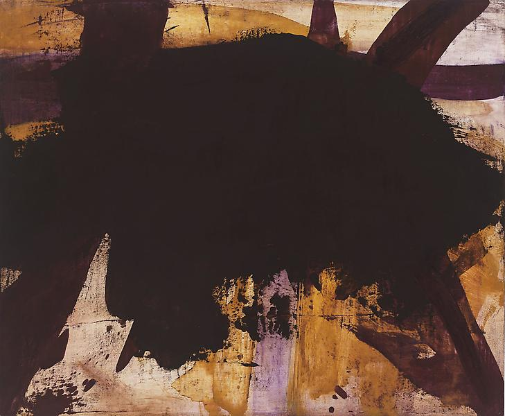 Bill Jensen LUOHAN (CINGHIALE) 2009 Oil on linen 23 x 28 inches 58.4 x 71.1 centimeters