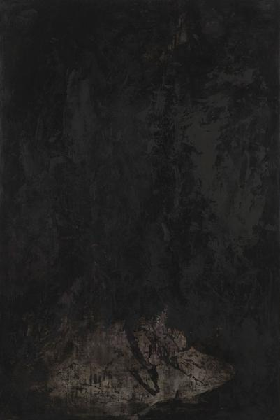 Bill Jensen 	END OF THE ORDINARY REALM (HUANGSHAN MOUNTAIN)  2013-14 	Oil on linen 	61 x 41 inches 	154.9 x 104.1 centimeters