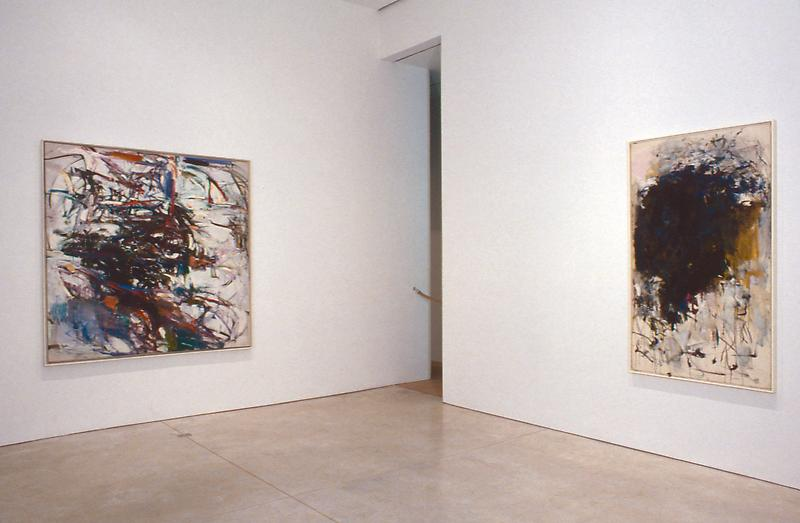 Joan Mitchell The Presence of Absence June 20 - August 16, 2002