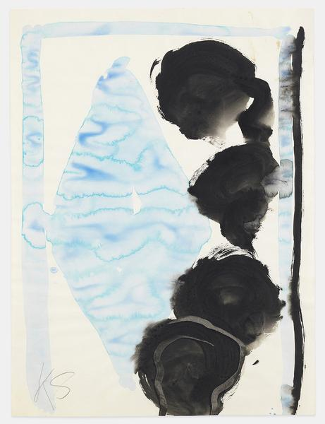 Kimber Smith (1922 - 1981)  UNTITLED 1973  Gouache on paper  24 x 18 inches  61 x 45.7 centimeters  CR# KS.40295