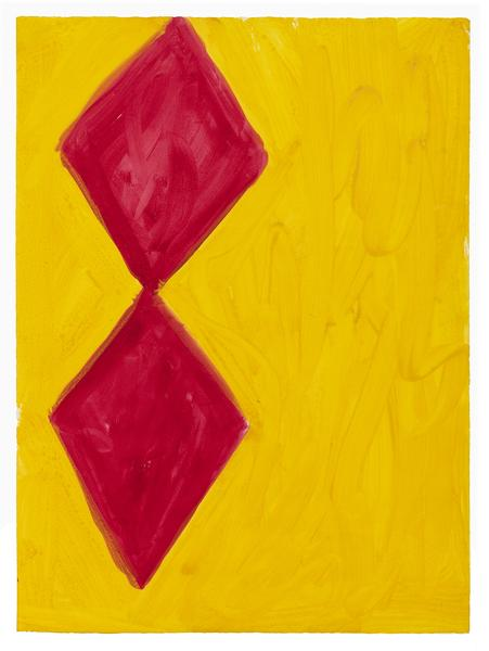 Kimber Smith (1922 - 1981)  UNTITLED 1972  Gouache on paper  26 x 19 inches  66 x 48.3 centimeters  CR# KS.40296