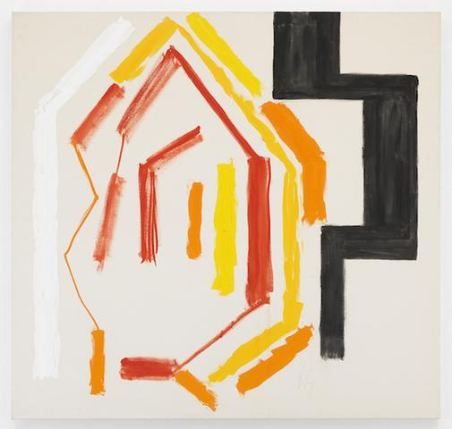 Kimber Smith (1922 - 1981)  ZDAY 1979  Acrylic on canvas  64 x 67 1/2 inches  162.6 x 171.5 centimeters