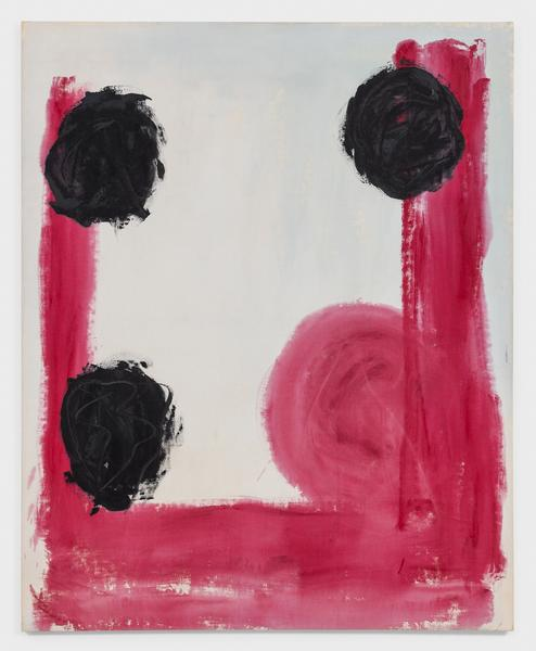 Kimber Smith (1922 - 1981)  M.G.S. 1974  Acrylic on canvas  65 1/2 x 53 inches  166.4 x 134.6 centimeters