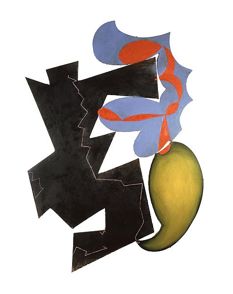Elizabeth Murray 	SENTIMENTAL EDUCATION 1982 	Oil on canvas 	127 x 96 inches 	322.6 x 243.8 centimeters