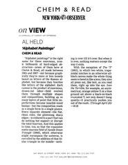 The New York Observer 3/18/13