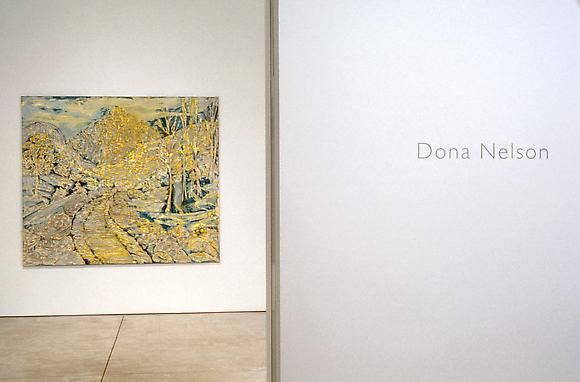 Dona Nelson - Tactile Image - Exhibitions - Cheim Read