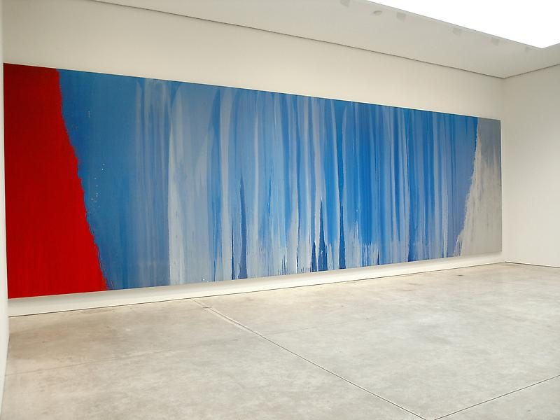 Pat Steir Moons and a River March 31 - May 7, 2005