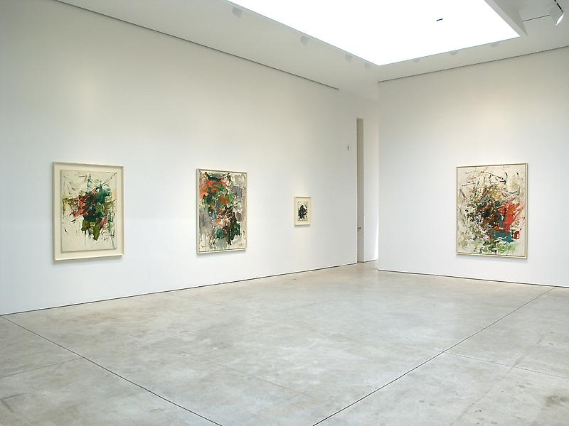 Joan Mitchell 	Fremicourt Paintings 1960 - 62 	May 10 - June 25, 2005
