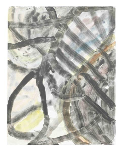 Jack Pierson UNTITLED 2015 Watercolor on paper mounted on linen 14 x 11 inches 35.6 x 27.9 centimeters PI.34870