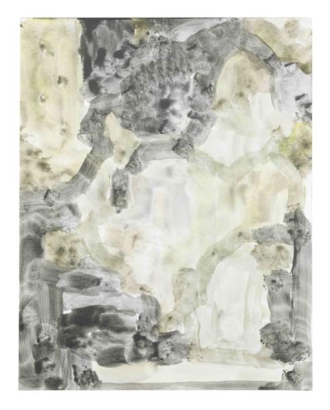 Jack Pierson UNTITLED 2015 Watercolor on paper mounted on linen 14 x 11 inches 35.6 x 27.9 centimeters PI.34872