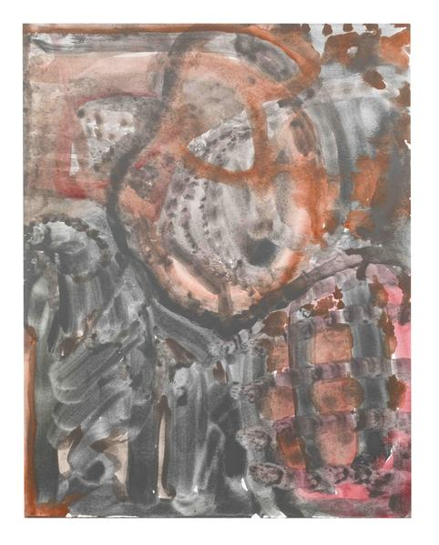 Jack Pierson UNTITLED 2014 Watercolor on paper mounted on linen 14 x 11 inches 35.6 x 27.9 centimeters PI.34885