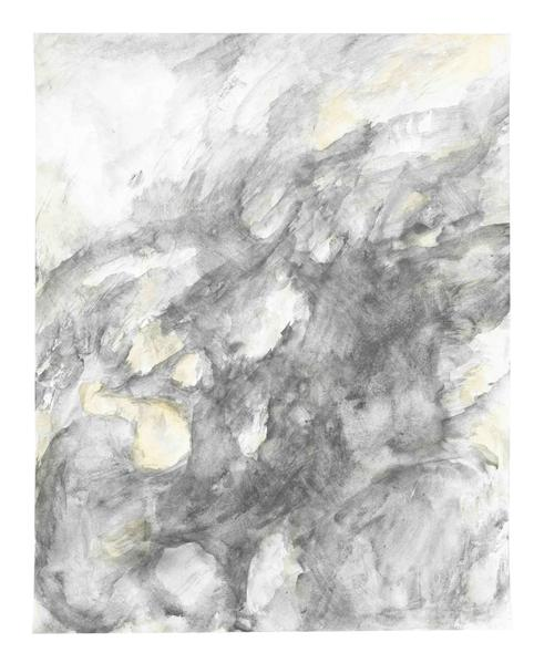 Jack Pierson UNTITLED 2015 Watercolor and graphite on paper mounted on linen 14 x 11 inches 35.6 x 27.9 centimeters PI.34934
