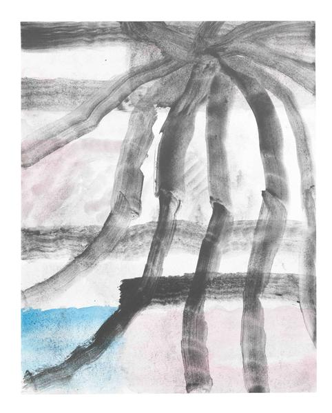 Jack Pierson UNTITLED 2015 Watercolor and graphite on paper mounted on linen 14 x 11 inches 35.6 x 27.9 centimeters PI.34943