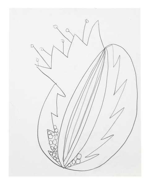 Jack Pierson UNTITLED 2015 Graphite on paper mounted on linen 14 x 11 inches 35.6 x 27.9 centimeters PI.34944