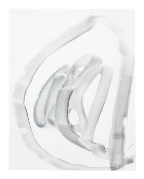 Jack Pierson UNTITLED 2015 Watercolor on paper mounted on linen 14 x 11 inches 35.6 x 27.9 centimeters PI.35015