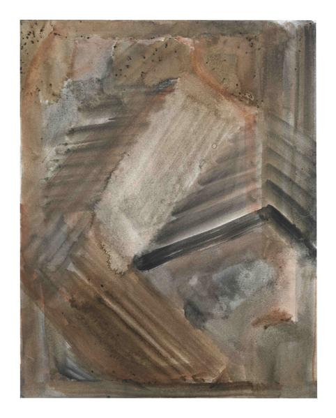 Jack Pierson UNTITLED 2014 Watercolor on paper mounted on linen 14 x 11 inches 35.6 x 27.9 centimeters PI.35084