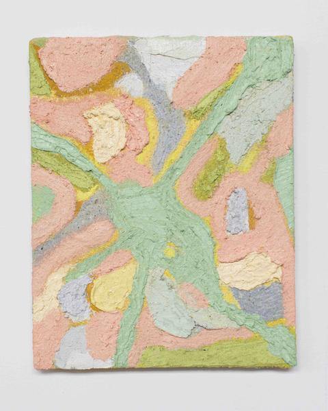 Jack Pierson SON OF EUPHORION 2015 Oil, paint, sand and wax on canvas 10 x 8 inches 25.4 x 20.3 centimeters