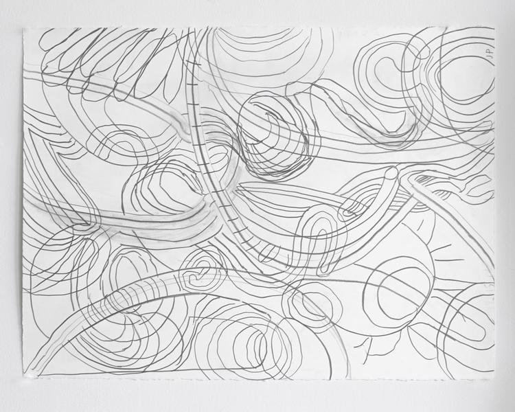 Jack Pierson UNTITLED 2012 Graphite on paper 22 1/2 x 30 inches 57.2 x 76.2 centimeters PI.35170