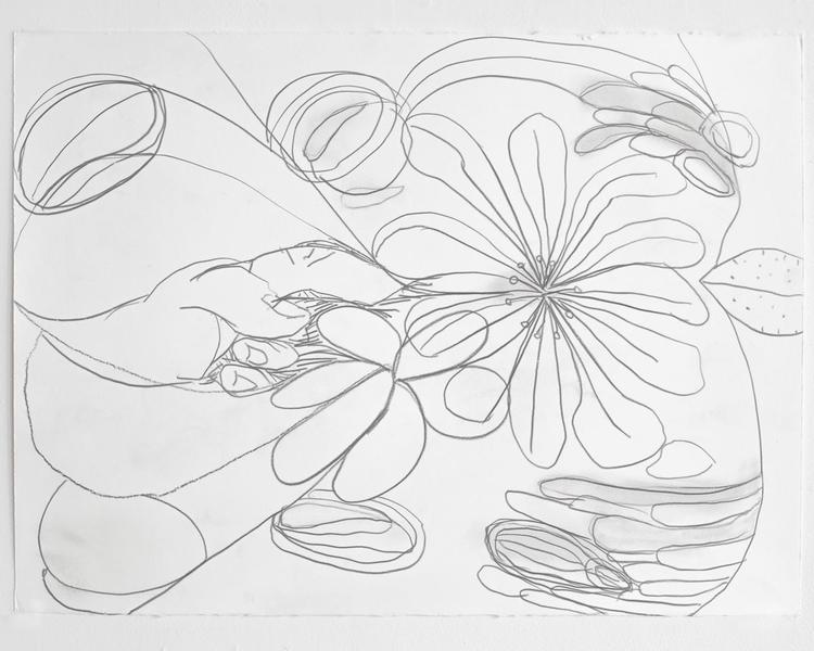Jack Pierson UNTITLED 2012 Graphite on paper 22 1/2 x 30 inches 57.2 x 76.2 centimeters PI.35175