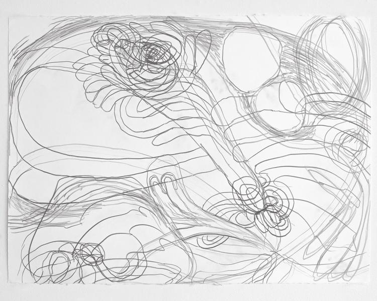 Jack Pierson UNTITLED 2012 Graphite on paper 22 1/2 x 30 inches 57.2 x 76.2 centimeters PI.35176