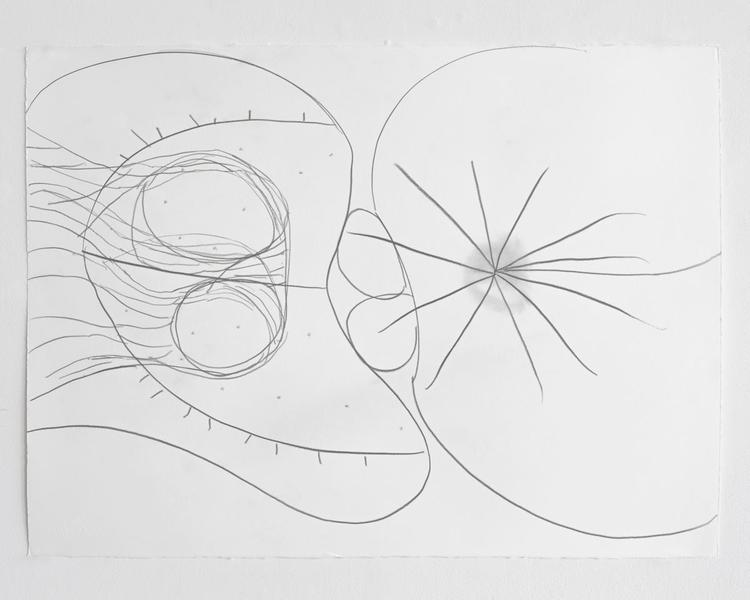 Jack Pierson UNTITLED 2012 Graphite on paper 22 1/2 x 30 inches 57.2 x 76.2 centimeters PI.35181