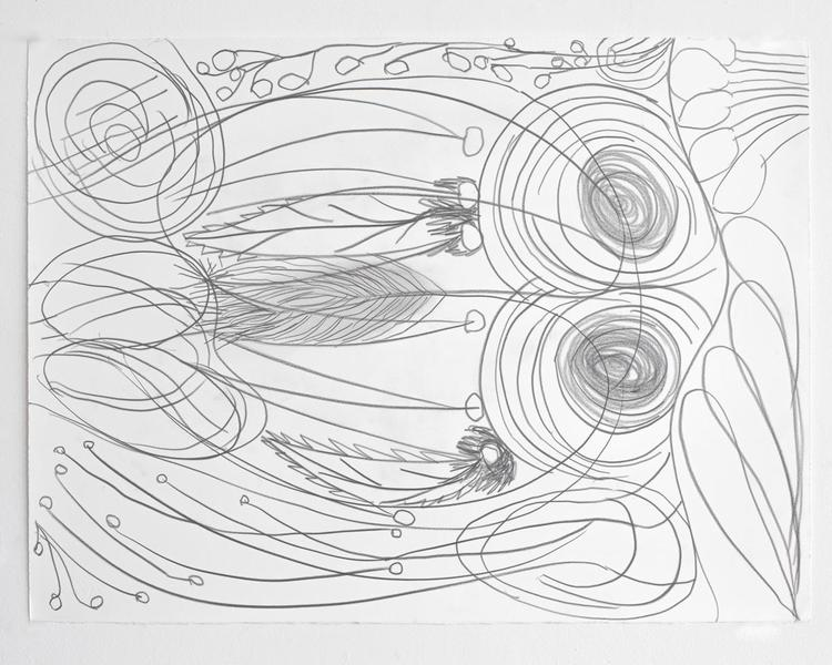 Jack Pierson UNTITLED 2012 Graphite on paper 22 1/2 x 30 inches 57.2 x 76.2 centimeters PI.35183