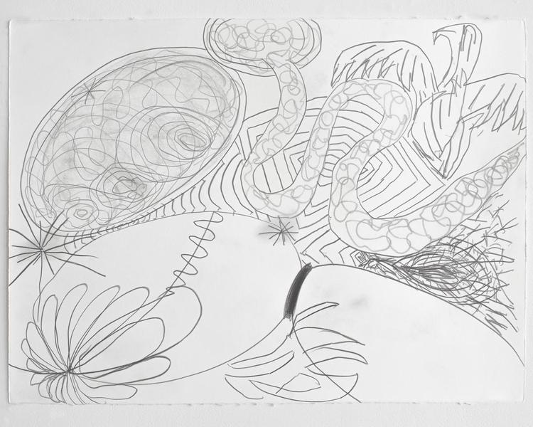Jack Pierson UNTITLED 2012 Graphite on paper 22 1/2 x 30 inches 57.2 x 76.2 centimeters PI.35186