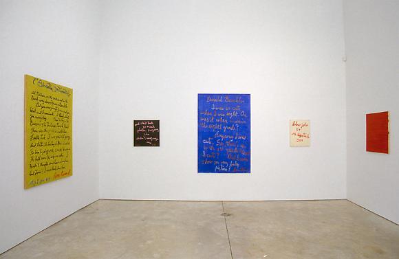 Jeff Perrone - Rene Ricard - Exhibitions - Cheim Read