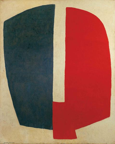 Serge Poliakoff COMPOSITION ABSTRAITE 1968 Oil on canvas 63 3/4 x 51 1/8 inches 162 x 130 centimeters