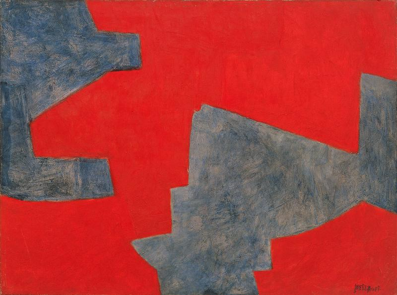 Serge Poliakoff COMPOSITION ABSTRAITE 1962 Oil on canvas 38 1/4 x 51 1/4 inches 97 x 130 centimeters