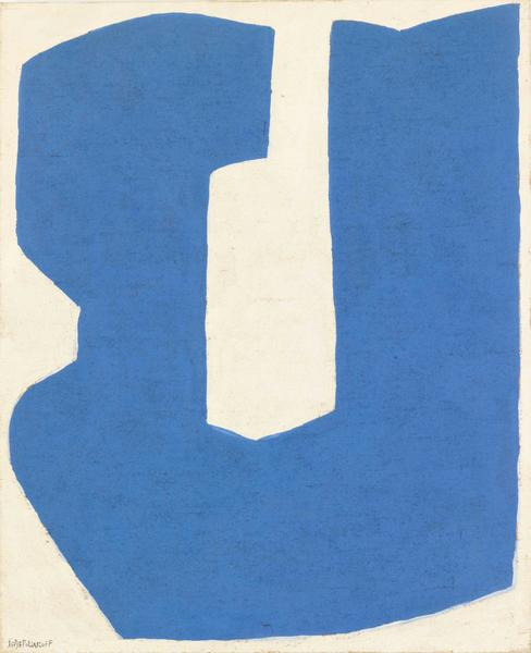 Serge Poliakoff COMPOSITION ABSTRAITE 1968 Oil on canvas 39 3/8 x 31 7/8 inches 100 x 81 centimeters