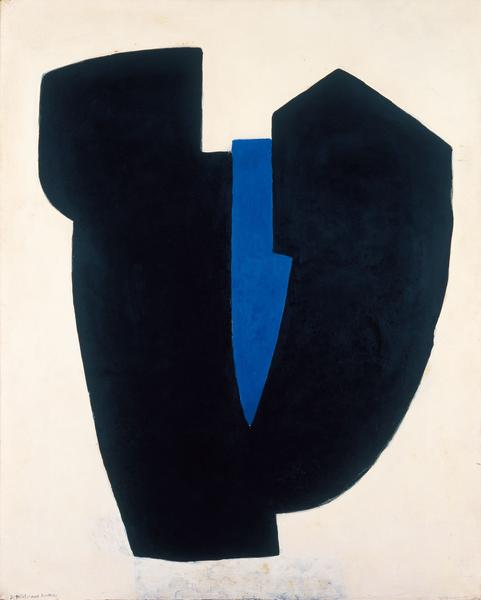 Serge Poliakoff COMPOSITION ABSTRAITE 1968 Tempera on canvas 63 3/4 x 51 1/8 inches 162 x 130 centimeters