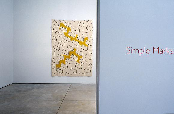 Simple Marks -  - Exhibitions - Cheim Read