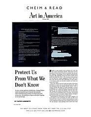 Art in America 10/06