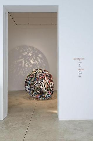 Ghada Amer - 100 Words of Love - Exhibitions - Cheim Read