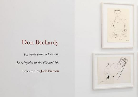 Don Bachardy - Portraits From a Canyon: Los Angeles in the 60s and 70s selected by Jack Pierson - Exhibitions - Cheim Read
