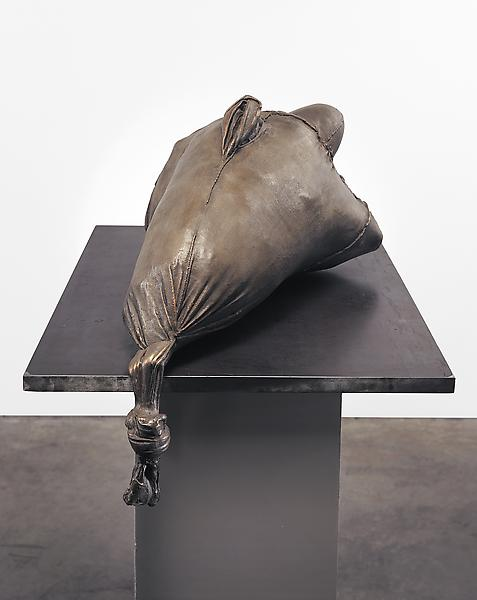 Louise Bourgeois 	ECHO III 2007 	Bronze, silver nitrate patina, and steel 	21 1/2 x 26 1/4 x 17 1/2 inches 	54.6 x 66.7 x 44.5 centimeters