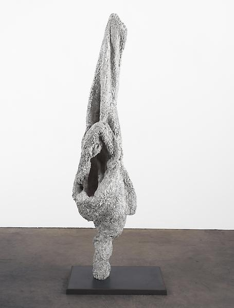 Louise Bourgeois 	ECHO VII 2007 	Bronze, painted white, and steel 	56 x 12 x 19 inches 	142.2 x 30.5 x 48.3 centimeters